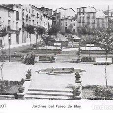 Cartes Postales: OLOT - Nº 40: JARDINES DEL PASEO DE BLAY - SIN CIRCULAR. Lote 65965110