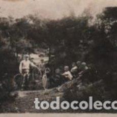 Postales: BUENAFOTO POSTAL DE SABADELL - FIESTA DEL PEDAL 1928 - BICICLETA - CICLISMO. Lote 66022630