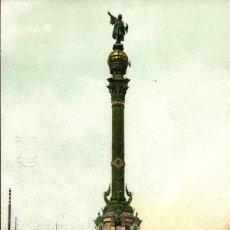 Postales: BARCELONA. MONUMENTO A COLÓN. Lote 66173746