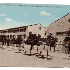 Postales: PS6956 PUIGCERDÀ 'ANTIGUA IGLESIA DE LOS DOMINICOS Y PASCO DEL 10 DE ABRIL'. SIN CIRCULAR. Lote 66218618