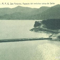 Postales: TREMP, SAN ANTONIO, ASPECTO DEL EMBALSE CERCA DE SALAS. Lote 66222834