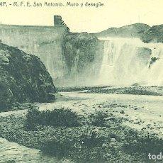 Postales: TREMP, SAN ANTONIO, MURO Y DESAGUE. Lote 66222910