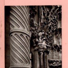 Postales: POSTAL BARCELONA TEMPLO SAGRADA FAMILIA Nº 1190 EDITO ZERKOWITZ SIN CIRCULAR . Lote 66303130