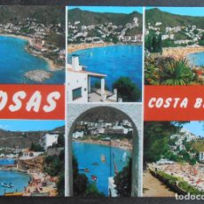 Cartes Postales: (46898)POSTAL ESCRITA,COSTA BRAVA,ROSES,GIRONA,CATALUÑA. Lote 67015954