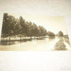 Postales: ROQUETAS N° 9, CANAL DERECHO DEL EBRO . FOTO DAUFI . TORTOSA . ESCRITA , NO CIRCULADA. Lote 67116089