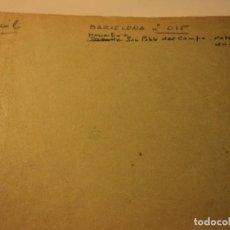 Postales: FOTOGRAMA HACER POSTALES ED. FABREGAT MONASTERIO SAN PABLO DEL CAMPO Nº 15, 3 NEGATIVOS+ TRASERA. Lote 67135333