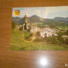 Cartes Postales: POSTAL VIDRA GIRONA. BAIX-PIRINEU. VISTA PARCIAL AMBESGLESIA ROMANICA DE SANT HILARI DE VIDRA C.. Lote 67617289