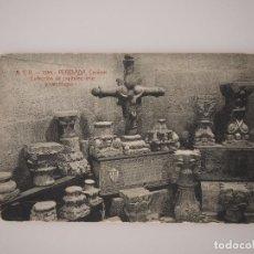 Postales: TARJETA POSTAL PERELADA. CARMEN COLECCION CAPITELES, CRUZ Y SARCOFAGOS ATV 1355. Lote 67852477
