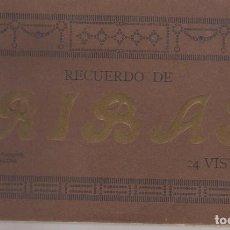 Postales: BLOCK DE 24 POSTALES DE RECUERDO DE RIBAS COMPLETO . -GIRONA -. Lote 67917313