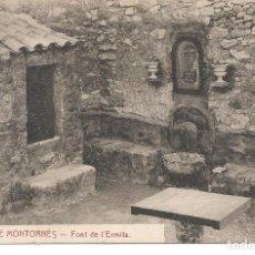 Postales: POBLA DE MONTORNES-TARRAGONA. Lote 68317061