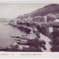 Postales: PORT DE LA SELVA (GERONA): VISTA PARCIAL DE LA RIBA I LLOIA. LLENSA. NO CIRCULADA (AÑOS 30). Lote 68561081