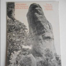 Postales: MONTSERRAT. PASS DE TRENCABARRALS AMANTCAP ST. GERONI. PASO DE TRENCABARRALS CAMINO DE S. GERONIMO. . Lote 68895841