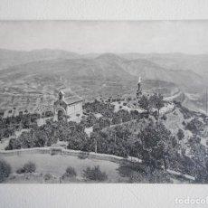 Postales: MONTSERRAT. JARDI I CAPELLA DELS S. S. APOSTOLS. JARDIN Y CAPILLA DE LOS APOSTOLES. TARJETA POSTAL.. Lote 68897889