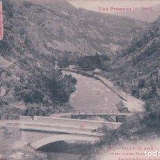 Cartoline: POSTAL VALLE DE ARAN PUENTE DEL REY LOS PIRINEOS 1 SERIE PHOT. LABOUCHE . CIRCULADA. Lote 69081725