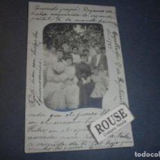 Postales: CAPELLADES - POSTAL FOTOGRAFICA , CIRCULADA 1905 REVERSO SIN DIVIDIR - 14X9 CM. . Lote 69285197
