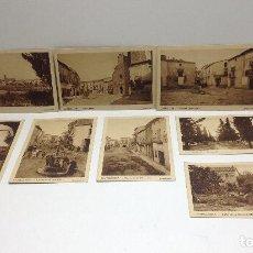Postales: CASTELLSERA. LOTE DE POSTALES CLIXE ARTIGAS HUECOGRABADO MUMBRU BARCELONA. Lote 69394757