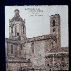 Postales: POSTAL MONASTERIO DE SANTAS CREUS L.ROISIN ESCRITA REUS 17 OCT 1929 TARRAGONA. Lote 69819917