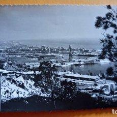 Postales: ANTIGUA FOTOGRAFÍA DE BARCELONA. VISTA PARCIAL. FOTO AÑOS 50/60.. Lote 69836677