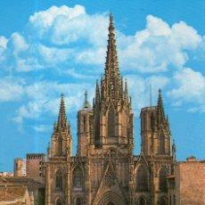 Postales: VESIV POSTAL BARCELONA LA CATEDRAL. Lote 69847093