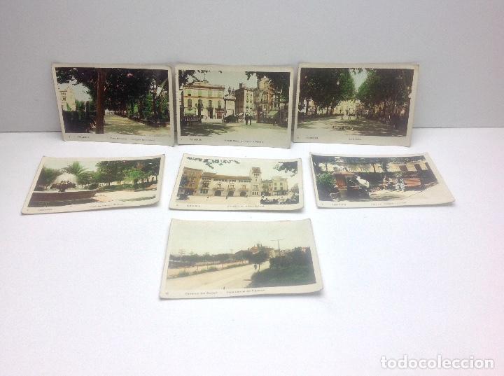 LOTE DE POSTALES DE FIGUERAS , COLOREADAS (Postales - España - Cataluña Antigua (hasta 1939))