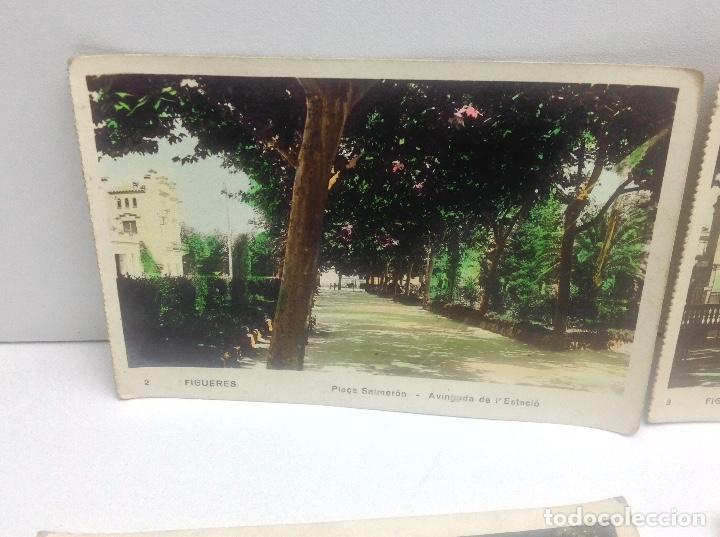 Postales: LOTE DE POSTALES DE FIGUERAS , COLOREADAS - Foto 2 - 69953917