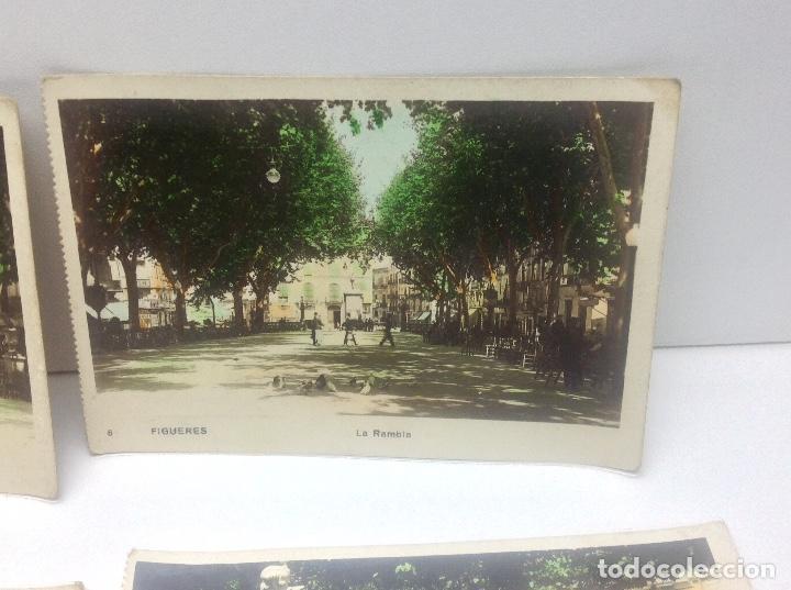 Postales: LOTE DE POSTALES DE FIGUERAS , COLOREADAS - Foto 4 - 69953917