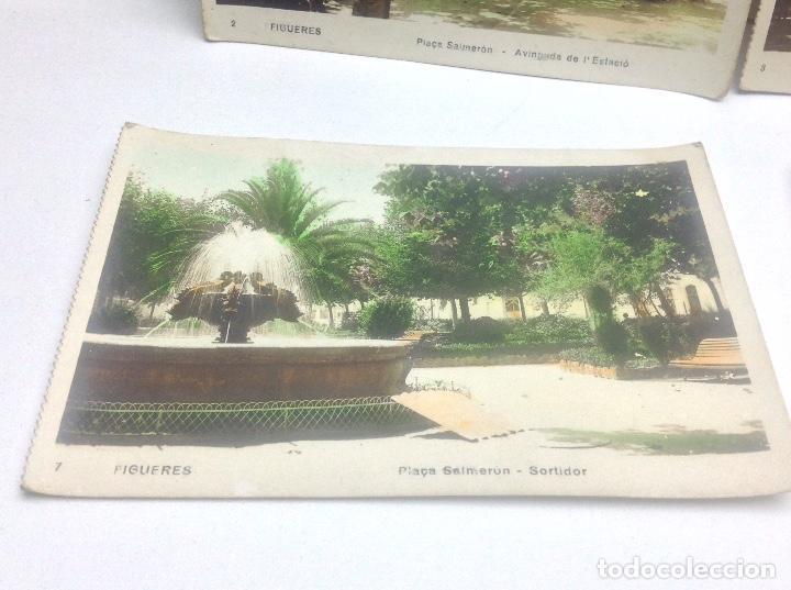 Postales: LOTE DE POSTALES DE FIGUERAS , COLOREADAS - Foto 5 - 69953917