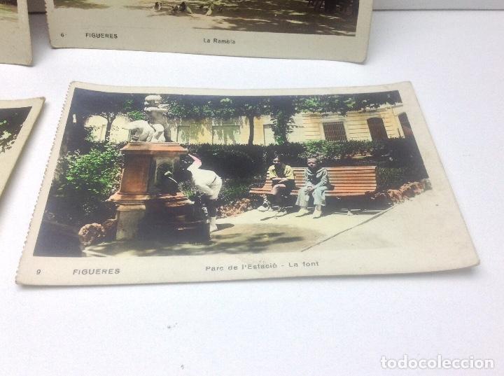 Postales: LOTE DE POSTALES DE FIGUERAS , COLOREADAS - Foto 7 - 69953917