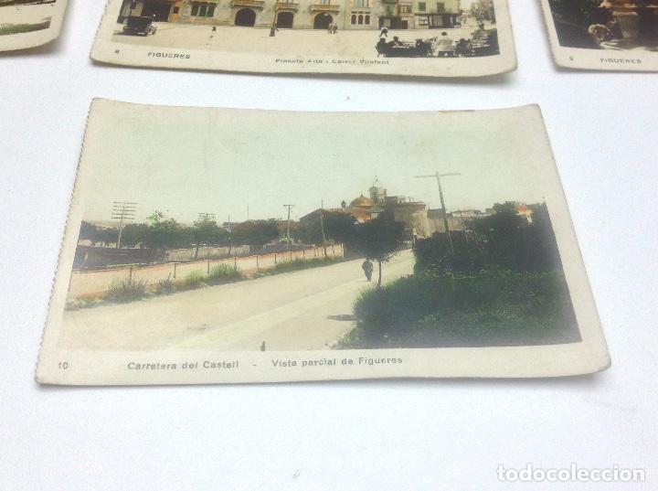 Postales: LOTE DE POSTALES DE FIGUERAS , COLOREADAS - Foto 8 - 69953917
