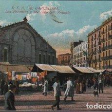 Postales: POSTAL DE BARCELONA - LOS ENCANTES Y MERCADO DE SAN ANTONIO Nº 70 DE R.S.A.. Lote 70207309