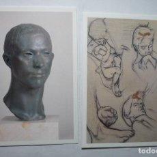 Postales: LOTE POSTALTES OBRAS DEL ESCULTOR JULIO ANTONIO. Lote 177627175