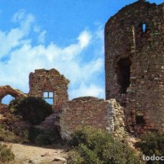 Postales: ARGENTONA - CASTILLO DE BURRIACH 1965 - GUELL Nº11. Lote 70325797