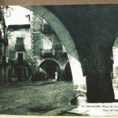 Postales: BALAGUER - PLAZA DEL POZO Y PÓRTICOS Nº 10. Lote 71061989