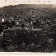 Postales: POSTAL FOTOGRÁFICA DUESAIGÜES -TARRAGONA- VISTA GENERAL CIRCULADA EN 1935 -SIN EDITOR-. Lote 71206549