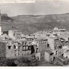Postales: POSTAL FOTOGRÁFICA BELLMUNT DE CIURANA -TARRAGONA- SIN CIRCULAR. Lote 71209461