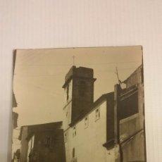 Postales: VILANOVA DE ESCORNALBOU. IGLESIA. POSTAL FOTOGRÁFICA SIN CIRCULAR. Lote 71256487