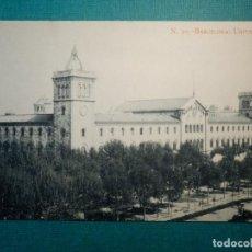 Postales: POSTAL - ESPAÑA - BARCELONA - 30 - UNIVERSIDAD - J. E. PUIG - . Lote 71418327