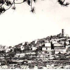 Postales: POSTAL FOTOGRÁFICA DE LA FIGUERA-TARRAGONA- .-VISTA GENERAL -CIRCULADA A BARCELONA . Lote 71493111