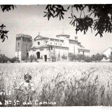 Postales: POSTAL FOTOGRAFICA DE CAMBRILS-ERMITA N.SRA DEL CAMINO- SIN EDITOR - CIRCULADA CON TASA-SIN SELLO-. Lote 71520191