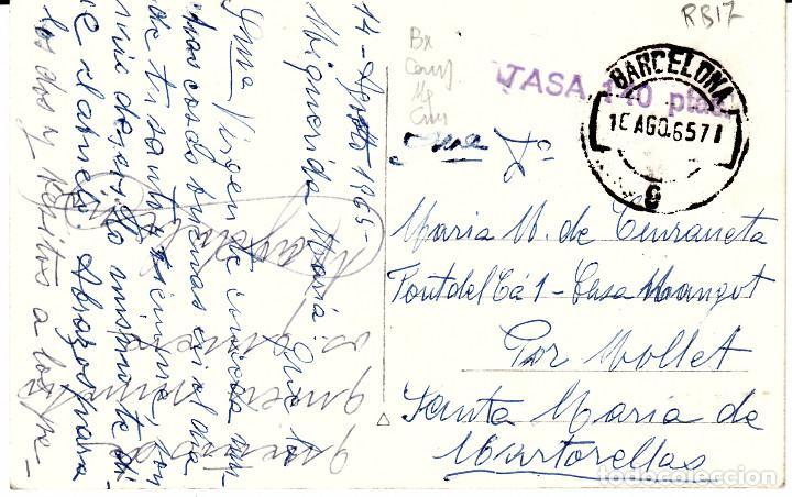 Postales: POSTAL FOTOGRAFICA DE CAMBRILS-ERMITA N.SRA DEL CAMINO- SIN EDITOR - CIRCULADA CON TASA-SIN SELLO- - Foto 3 - 71520191