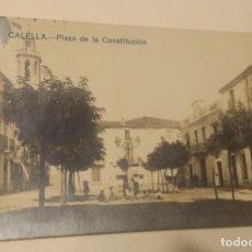 Postales: CALELLA - PLAZA DE LA CONSTITUCION CIRCULADA. Lote 71572711