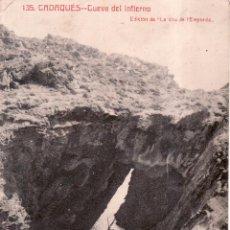 Postales: POSTAL DE GIRONA - GERONA - CADAQUES - CUEVA DEL INFIERNO - ED LA VEU DEL E'MPORDA - VER REVERSO. Lote 71649455