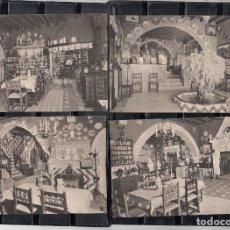 Postales: 7 POSTALES DE SITGES - MUSEO DEL CAU FERRAT. Lote 71876415