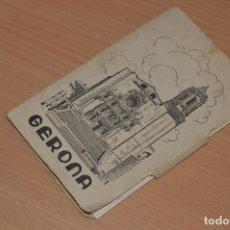 Postales: ESTUCHE CON 10 TARJETAS POSTALES - GERONA - Nº1 - AÑOS 50 - SIN CIRCULAR - RECUERDO DE GERONA. Lote 71934931