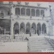 Postales: POSTAL MONTSERRAT ( BARCELONA ) REVERSO SIN DIVIDIR. Lote 72093067