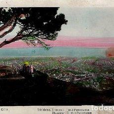 Postales: BARCELONA.TIBIDABO.COLOREADA.L.ROISIN.CIRCULADA. Lote 72157751