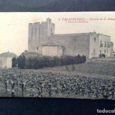 Postales: TARJETA POSTAL ANTIGUA Nº5 DE PALAFRUGELL-ERMITA S.SEBASTIAN DE L.ROISIN-SIN CIRCULAR. Lote 72368123