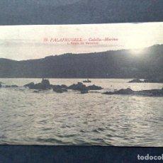 Postales: TARJETA POSTAL ANTIGUA Nº10 DE PALAFRUGELL-CALELLA-MARINA,DE L.ROISIN-SIN CIRCULAR. Lote 72368319