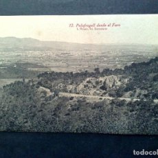 Postales: TARJETA POSTAL ANTIGUA Nº12 DE PALAFRUGELL-DESDE EL FARO,DE L.ROISIN-SIN CIRCULAR. Lote 72368519