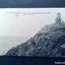 Postales: TARJETA POSTAL ANTIGUA Nº13 DE PALAFRUGELL-DESDE LA ERMITA,DE L.ROISIN-SIN CIRCULAR. Lote 72368599